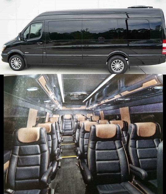 Atlanta sprinter van rental luxury passenger sprinter for Mercedes benz sprinter van rentals atlanta